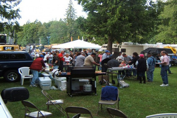 Deming Logging Show Cookout