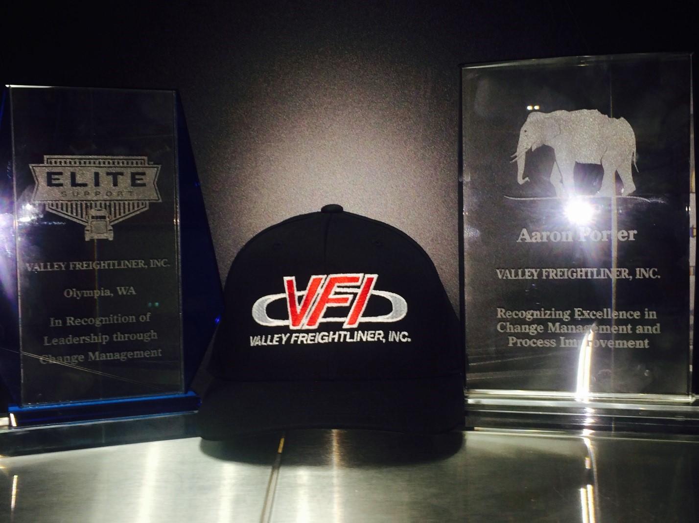 Valley Freightliner receives Elite Support Awards