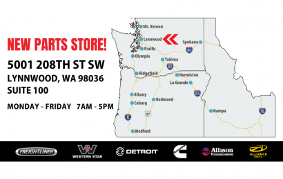 Freightliner Northwest Parts Store Now Open in Lynnwood, Wash.