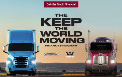 Keep the World Moving Finance Program From DTF