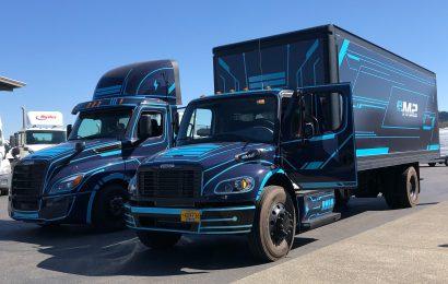 eMobility Road Show at Freightliner Northwest