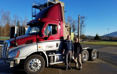 Skagit Valley College Receives Donated Freightliner Truck