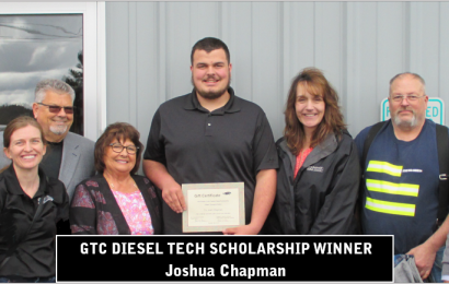 GTC Diesel Technology Scholarship Winner Announced