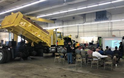 Freightliner Northwest Presents at WSDOT Statewide Technical Training